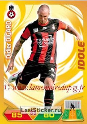 N° 192 - Didier DIGARD (2007-08, PSG > 2012-13, Nice) (Idole)