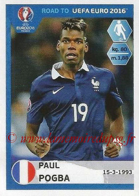 Panini Road to Euro 2016 Stickers - N° 106 - Paul POGBA (France)