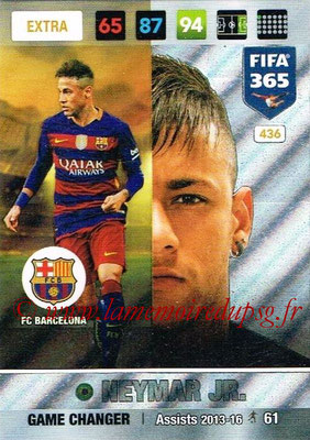 2016-17 - Panini Adrenalyn XL FIFA 365 - N° 436 - NEYMAR Jr. (FC Barcelone) (Game Changer) (Nordic Edition)