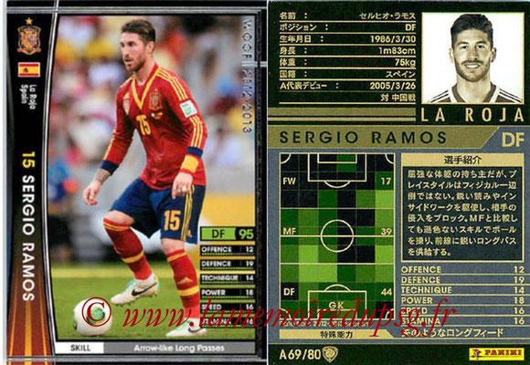2012-13 - WCCF - N° A69 - Sergio RAMOS (Espagne)