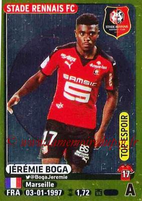 2015-16 - Panini Ligue 1 Stickers - N° 403 - Jérémie BOGA (Stade Rennais FC) (Top espoir)