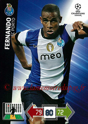 2012-13 - Adrenalyn XL champions League N° 201 - FERNANDO (FC Porto)
