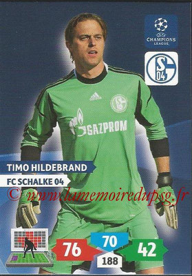2013-14 - Adrenalyn XL champions League N° 244 - Timo HILDEBRAND (FC Schalke 04)