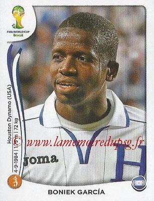 2014 - Panini FIFA World Cup Brazil Stickers - N° 403 - Boniek GARCIA (Honduras)