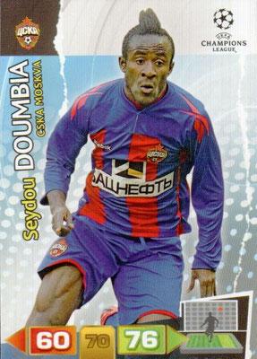 2011-12 - Panini Champions League Cards - N° 105 - Seydou DOUMBIA (CSKA Moscou)
