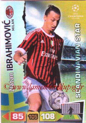 2011-12 - Panini Champions League Cards - N° 359 - Zlatan IBRAHIMOVIC (Milan AC) (Scandinavian Star)