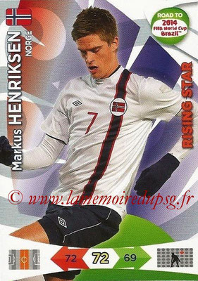 2014 - Panini Road to FIFA World Cup Brazil Adrenalyn XL - N° 144 - Markus HENRIKSEN (Norvège) (Rising Star)