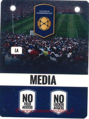Badge Presse  PSG-Leicester City  2016-17