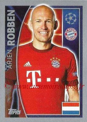 2015-16 - Topps UEFA Champions League Stickers - N° 387 - Arjen ROBBEN (FC Bayern Munich)