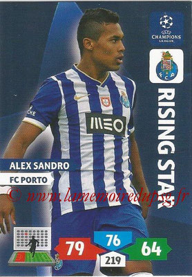 2013-14 - Adrenalyn XL champions League N° 218 - Alex SANDRO (FC Porto) (Rising Star)