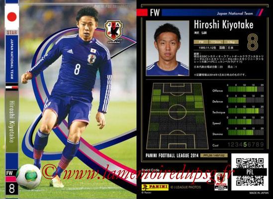 Panini Football League 2014 - PFL06 - N° 148 - Hiroshi KIYOTAKE (Japon) (Star)