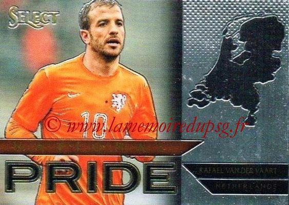 2015 - Panini Select Soccer - N° NP49 - Rafael VAN DER VAART (Pays-Bas) (National Pride)