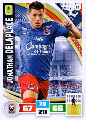 2016-17 - Panini Adrenalyn XL Ligue 1 - N° 062 - Jonathan DELAPLACE (Caen)