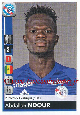 2018-19 - Panini Ligue 1 Stickers - N° 458 - Abdallah NDOUR (Strasbourg)