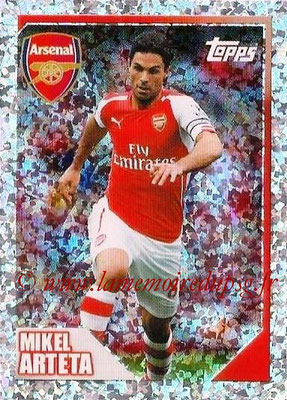 N° 026 - Mikel ARTETA (Jan 2001-02, PSG > 2014-15, Arsenal, ANG) (Captain)