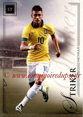 2014 - Futera World Football Unique - N° 083 - NEYMAR (Striker)