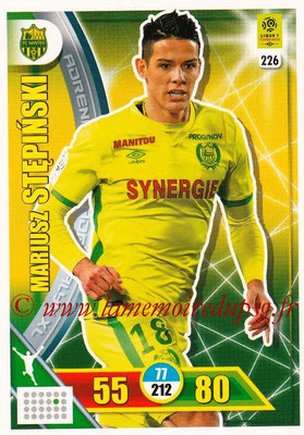 2017-18 - Panini Adrenalyn XL Ligue 1 - N° 226 - Mariusz STEPINSKI (Nantes)
