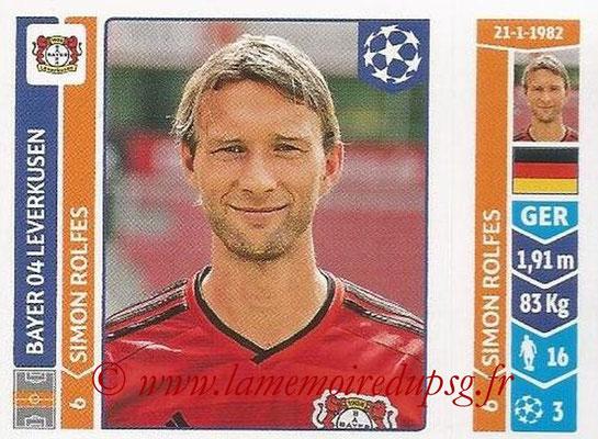 2014-15 - Panini Champions League N° 223 - Simon ROLFES (Bayer 04 Leverkusen)