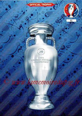 Panini Euro 2016 Cards - N° 011 - Trophée UEFA Euro