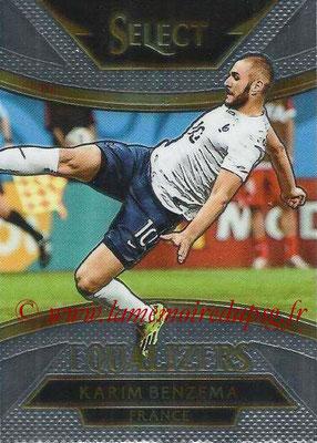 2015 - Panini Select Soccer - N° E09 - Karim BENZEMA (France) (Equalizers)