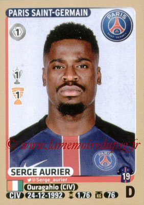 2015-16 - Panini Ligue 1 Stickers - N° 340 - Serge AURIER (Paris Saint-Germain)