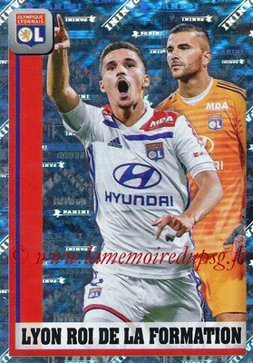 2018-19 - Panini Ligue 1 Stickers - N° 200 - Lyon Roi de la Formation