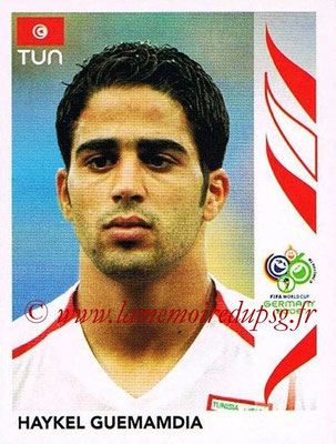 2006 - Panini FIFA World Cup Germany Stickers - N° 583 - Haykel GUEMAMDIA (Tunisie)