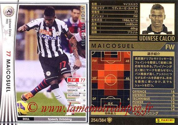 2012-13 - WCCF - N° 254 - MAICOSUEL (Udinese  Calcio)