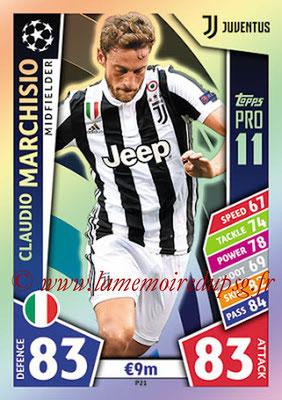 2017-18 - Topps UEFA Champions League Match Attax - N° P21 - Claudio MARCHISIO (Juventus) (Pro 11)