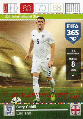 2015-16 - Panini Adrenalyn XL FIFA 365 - N° 324 - Gary CAHILL (Angleterre) (International Star)
