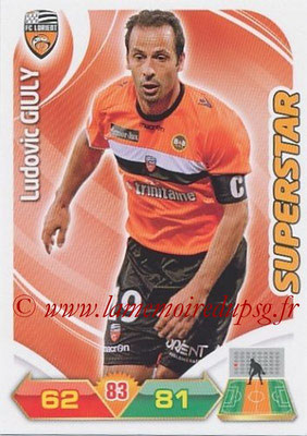N° 110 - Ludovic GIULY (Superstar) (2008-11, PSG > 2012-13, Lorient)