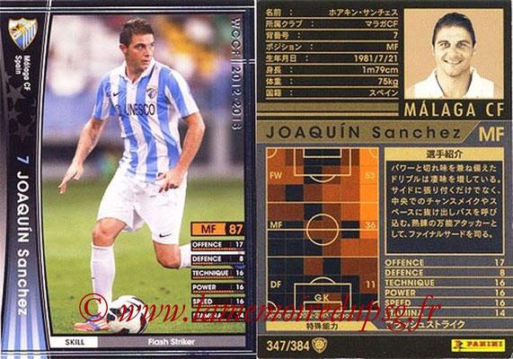 2012-13 - WCCF - N° 347 - Joaquin SANCHEZ (Malaga CF)