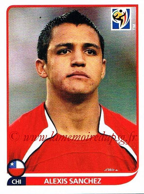 2010 - Panini FIFA World Cup South Africa Stickers - N° 634 - Alexis SANCHEZ (Chili)