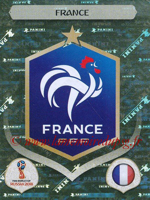 2018 - Panini FIFA World Cup Russia Stickers - N° 192 - Ecusson France