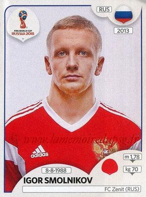 2018 - Panini FIFA World Cup Russia Stickers - N° 035 - Igor SMOLNIKOV (Russie)