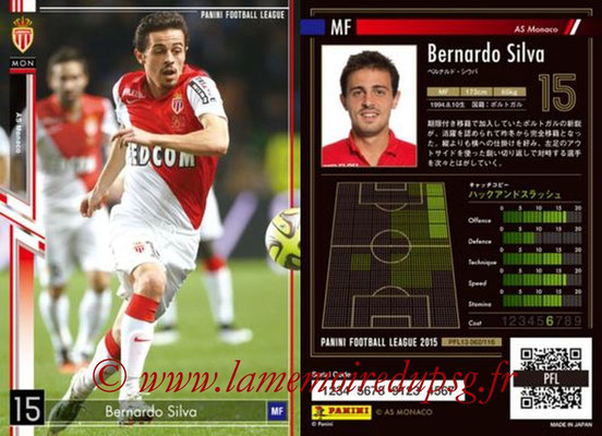 Panini Football League 2015 - PFL13 - N° 062 - Bernardo SILVA (AS Monaco)