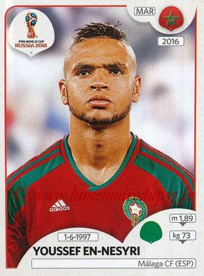 2018 - Panini FIFA World Cup Russia Stickers - N° 171 - Youssef EN-NESYRI (Maroc)