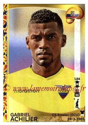 Panini Copa America Centenario USA 2016 Stickers - N° 142 - Gabriel ACHILIER (Equateur)