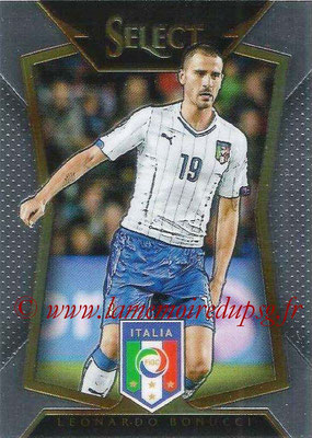 2015 - Panini Select Soccer - N° 047 - Leonardo BONUCCI (Italie)