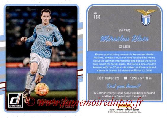 2016 - Panini Donruss Cards - N° 166 - Miroslav KLOSE (SS Lazio)