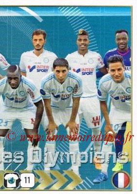 2015-16 - Panini FIFA 365 Stickers - N° 418 - Equipe Olympique de Marseille 2
