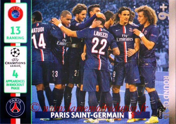 N° UE012 - PARIS SAINT-GERMAIN (Round of 16)