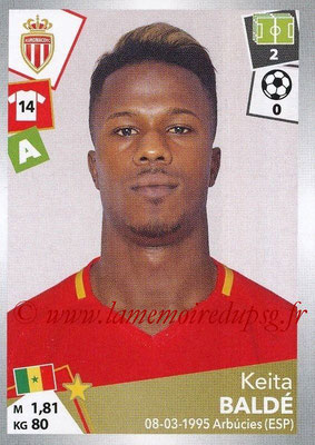 2017-18 - Panini Ligue 1 Stickers - N° 275 - Keita BALDE (Monaco)