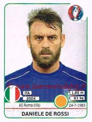 Panini Euro 2016 Stickers - N° 504 - Daniele DE ROSSI (Italie)