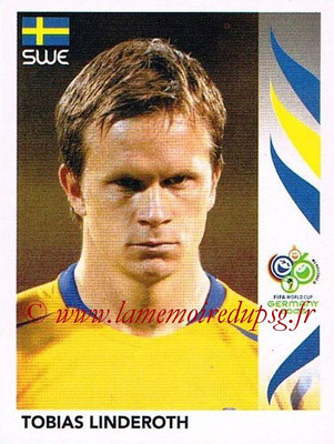 2006 - Panini FIFA World Cup Germany Stickers - N° 160 - Tobias LINDEROTH (Suède)