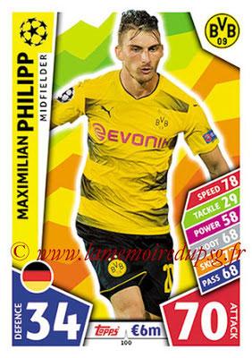 2017-18 - Topps UEFA Champions League Match Attax - N° 100 - Maximilian PHILIPP (Borussia Dortmund)