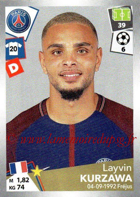 2017-18 - Panini Ligue 1 Stickers - N° 369 - Layvin KURZAWA (Paris Saint-Germain)