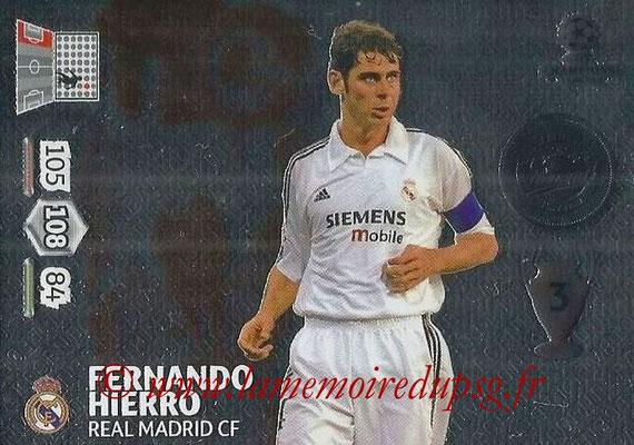 2014-15 - Adrenalyn XL champions League N° 361 - Fernando HIERRO (Real Madrid CF) (Legend)