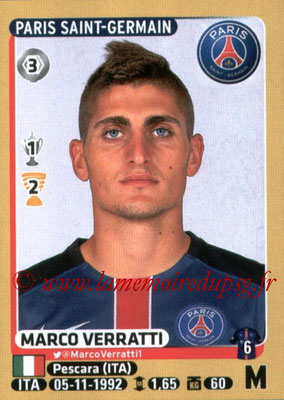 2015-16 - Panini Ligue 1 Stickers - N° 354 - Marco VERRATTI (Paris Saint-Germain)