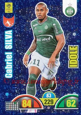 2018-19 - Panini Adrenalyn XL Ligue 1 - N° 391 - Gabriel SILVA (Saint-Etienne) (Idole)